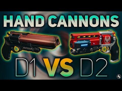 Hand Cannons in D1 vs D2 (Why gunplay in D2 feels worse) | Destiny 2 Sandbox