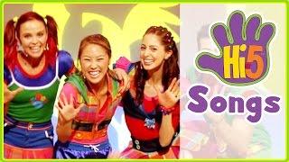 Hi-5 Songs | Move Your Body & More Kids Songs - Hi5 Season 14 Songs of the Week