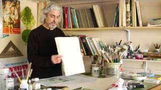 Oil & Acrylic Painting Tips : How to Make a Canvas Board to Paint