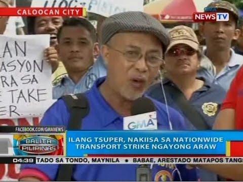 BP: Ilang tsuper, nakiisa sa nationwide transport strike ngayong araw