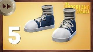 Shoes for Gregor the Overlander | PART 5 | BLENDER TIMELAPSE