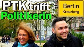 PTK trifft Grünen Politikerin in Kreuzberg: Gras legalisieren, Touristen im Ghetto, Kriminalität