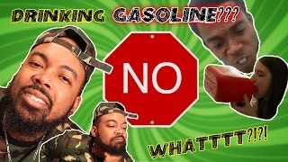 Addicted to drinking gas (Reaction Video)