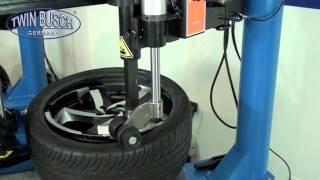 Tyre Changer   Semi Autom side swing arm design TW 1298   Twin Busch GmbH   GARAGE EQUIPMENT