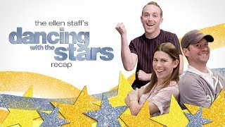 Ellen's Staff Is Back with 'Dancing with the Stars'