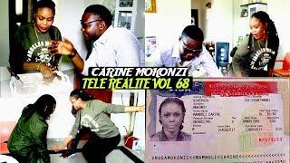 Télé Realité Vol 68 Carine Mokonzi Azui Visa USA Azui Professeur Y'Anglais JUVENAL  Ba Cours Ebandi
