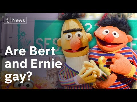 Xxx Mp4 Bert And Ernie Controversy Are They Gay 3gp Sex