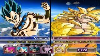 DRAGON BALL Z BUDOKAI TENKAICHI 3 VERSION LATINO FINAL GAMEPLAY LOTERIA 106
