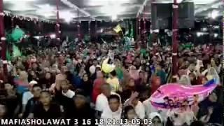 MafiaSholawat Alun-alun Karanganyar (1/3) 16-maret-2018