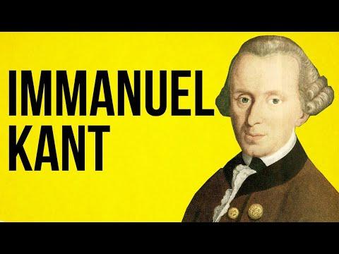 Immanuel Kant - Kategorický Imperativ - Filozofie
