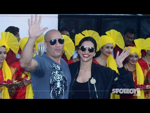 Xxx Mp4 Deepika Padukone Welcomes Vin Diesel In India At The Airport XXx Return Of Xander Cage SpotboyE 3gp Sex