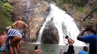 Dudhsagar waterfall, Goa