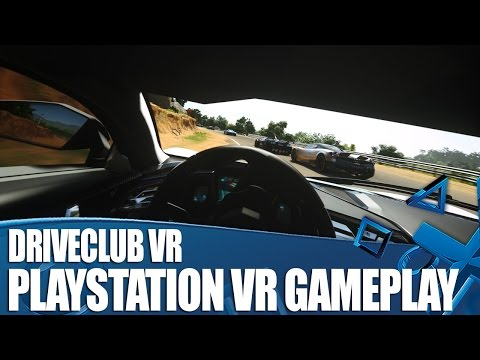 Driveclub VR First Gameplay! We've Played It