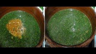 سر الملوخية الخضراء وازاى تخليها متسقطش فى الحلة وتكون خضراء وناجحة