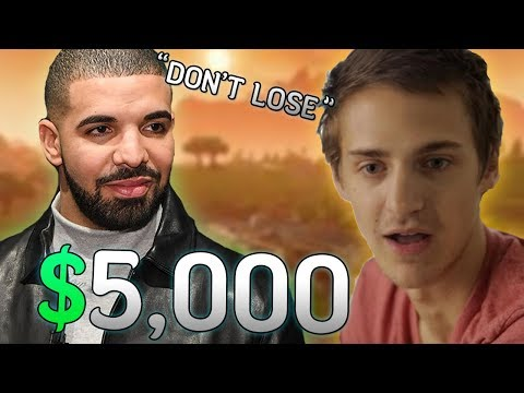 Drake Bets Ninja 5 000 He Won t Clutch The Win Then This Happened