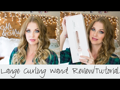 Lange Curling Wand Review || Hair Tutorial || Wow!