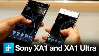 Sony XA1 Ultra and XA1 - Hands On at MWC 2017