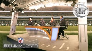 360° Behind the Scenes of NFL Network with Rich Eisen (360 Video) | Ep. 6 | NFL Immersed