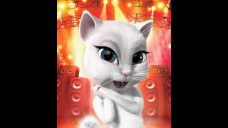 شوفوا   القطة قطة العييد تغني للعيييد