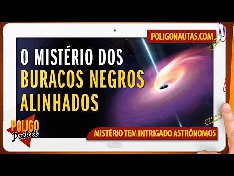 O Mistério dos Buracos Negros Alinhados PoligoPocket