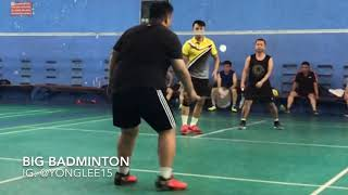 Fatboy Play Badminton Like A Pro Player!!! Must Watch!!! Unbelievable!!