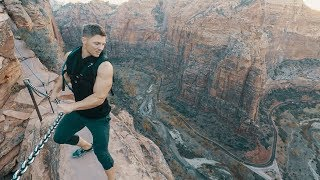 AMERICA'S MOST DANGEROUS HIKE! 2,000FT DROPS!