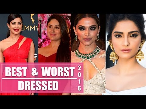 Xxx Mp4 Kareena Priyanka Deepika Sonam The Best And Worst Dressed Of 2016 3gp Sex