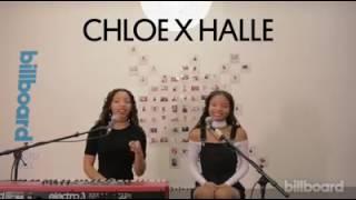 Chloe X Halle - Fall (Live) | Billboard