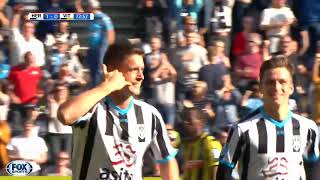 GOAL |  Kristoffer Peterson. Heracles Almelo - Vitesse 1 - 0