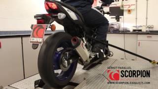 SV 650 OEM VS Scorpion Serket Parallel & Serket Taper // By Scorpion Exhausts