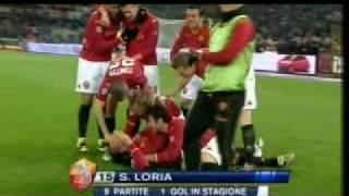 roma-juve 1-4 gol loria commento zampa
