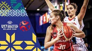 LIVE 🔴- Spain v Hungary - FIBA U17 Women's Basketball World Cup 2018