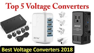 Top 5 Voltage Converters 2018 || Best Voltage Converters Review ||
