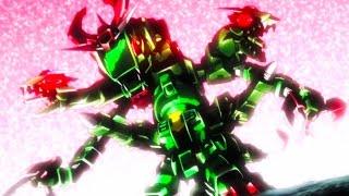 Gundam Build Fighters Try Episode 17 ガンダムビルドファイターズトライ Review - The Snibal-Drago-Gira