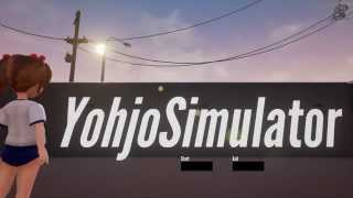 Let's play Yohjo Simulator (PC game on Steam) developed by DEADFACTORY 1080p 60fps