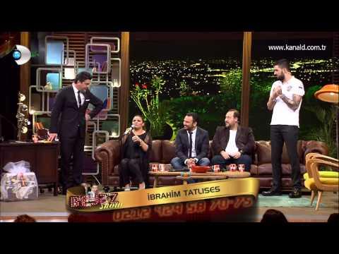 İbrahim Tatlıses Beyaz Show a telefon ile bağlandı