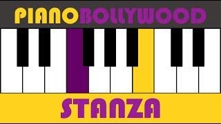 Aashiyan [Barfi] - Easy PIANO TUTORIAL - Stanza [Both Hands]