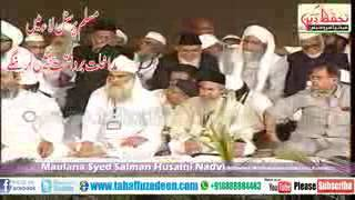 Moulana Salman Nadvi Power Full Speech On Personal