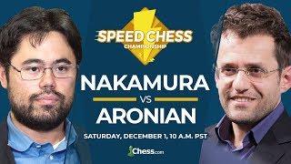 2018 Speed Chess Championship: Nakamura vs Aronian