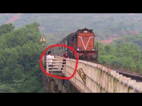 Xxx Mp4 Clicking Photos With Running Train BAD IDEA Karmali AC Superfast Express KONKAN RAILWAY 3gp Sex