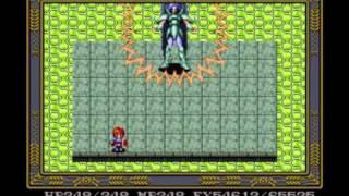 Ys IV Mask of the Sun (SNES) - Final Boss Eldeel (No Damage & Magic)
