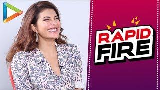 Ranbir Kapoor or Varun Dhawan? Jacqueline Fernandez makes the tough choice | RAPID FIRE | Race 3