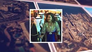 """"""" الفنانة احلام """" الى ابونا صباح الاحمد """" كفيت ووفيت """".. تسلم حياتك اهداء من بنت زايد"""