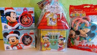 Disney Mickey - Minnie Mouse and Friends Christmas Surprise House Gift Box Toys & Eggs Xmas