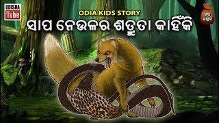 Odia Children Story | ସାପ ନେଉଳର ଶତ୍ରୁତା କାହିଁକି | Gapa Ganthili | Odisha Tube