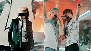 G-DRAGON & BTS - 개소리 BULLSHIT X 불타오르네 FIRE (MASHUP)