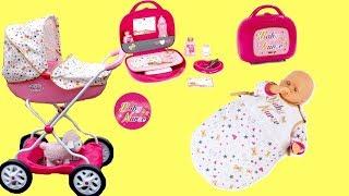 Baby Dolls Nursery Toys Dolls Pram Sleeping Bag Bathtub Vanity Case Baby Annabell Baby Born