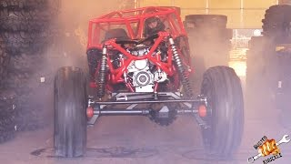 CHAINED ROCK BOUNCER BURNOUT - RUM RUNNER