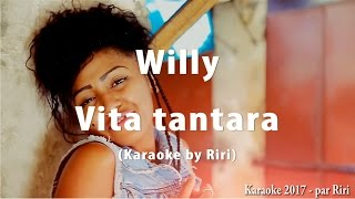 Willy - Vita tantara (Karaoke by Riri) 2017