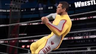 WWE 2k16 The Running Man Ben Richards (Arnold schwarzenegger)